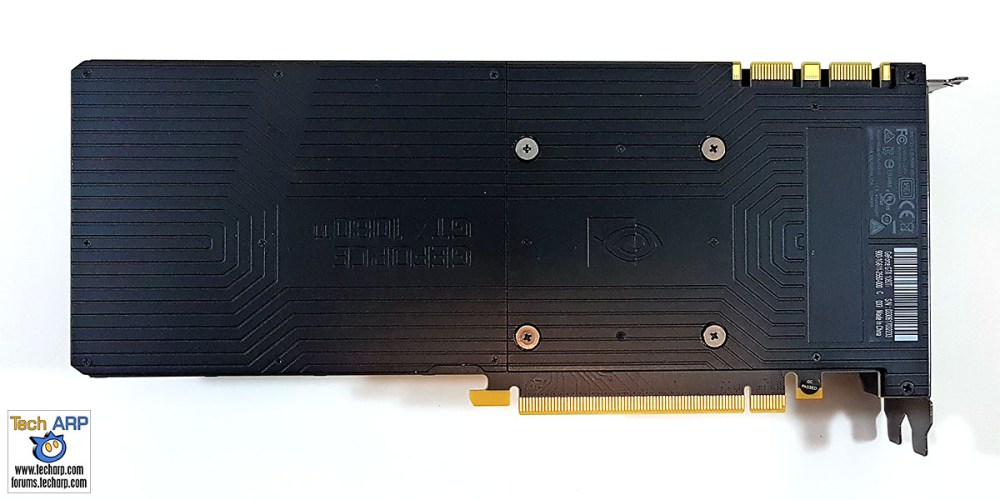 NVIDIA GeForce GTX 1080 Ti back
