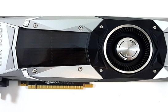 NVIDIA GeForce GTX 1080 Ti front