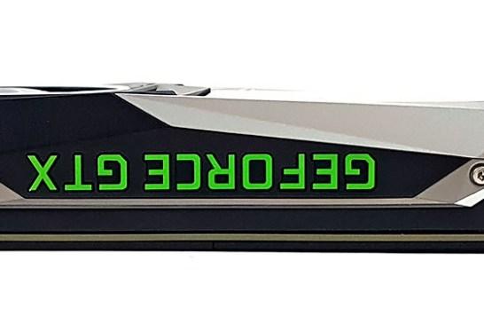 NVIDIA GeForce GTX 1080 Ti top