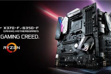 ASUS Announces Strix X370-F & Strix B350-F Motherboards
