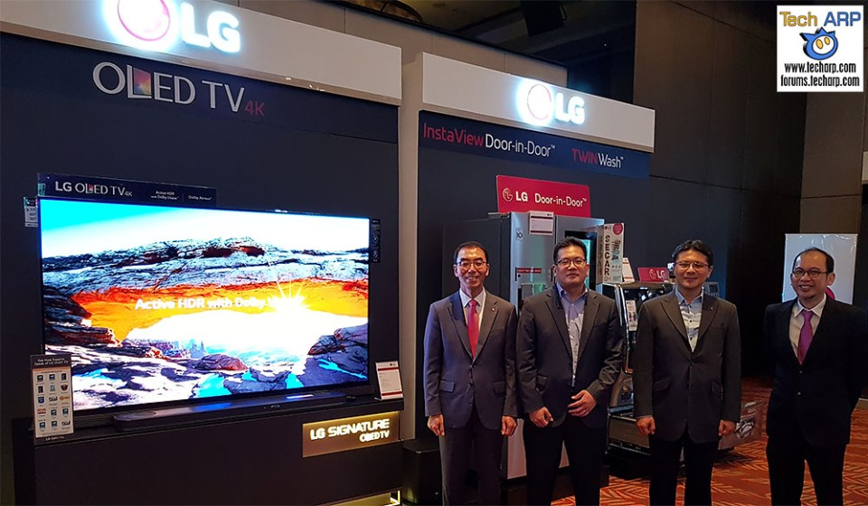 The 2017 LG Showcase - Signature 4K OLED, CordZero & More!
