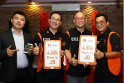 U Mobile Launches 4.5G Service In Johor Bahru