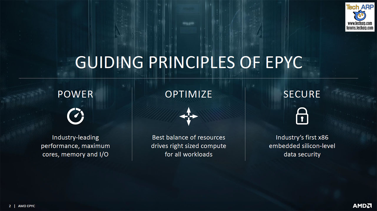 The AMD EPYC 7000 Series Processor Tech Report - Page 3 : The