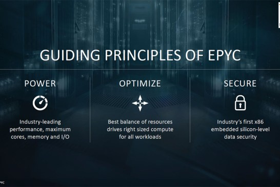 The AMD EPYC 7000 Series Processor Tech Report