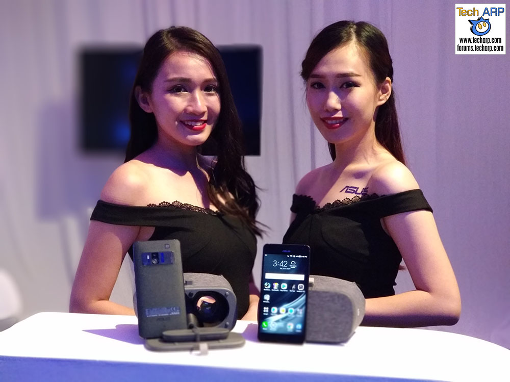 ASUS ZenFone 3 Zoom portrait mode on