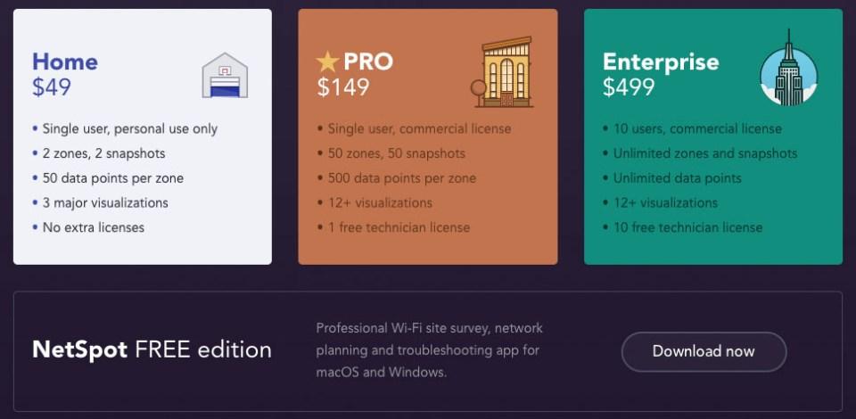 NetSpot PRO and Enterprise for Windows Released!