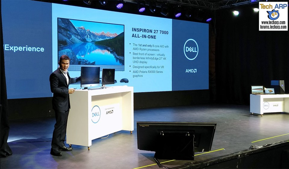 The Dell Computex 2017 Product Launch
