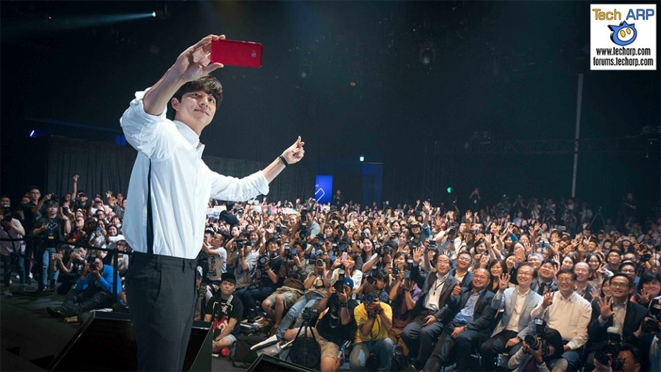 """Gong Yoo Madness @ The ASUS """"We Love Photo"""" Event!"""