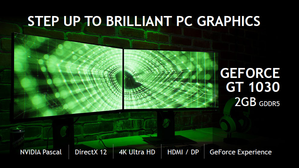 NVIDIA Gives Old PCs A Great Boost With GeForce GT 1030