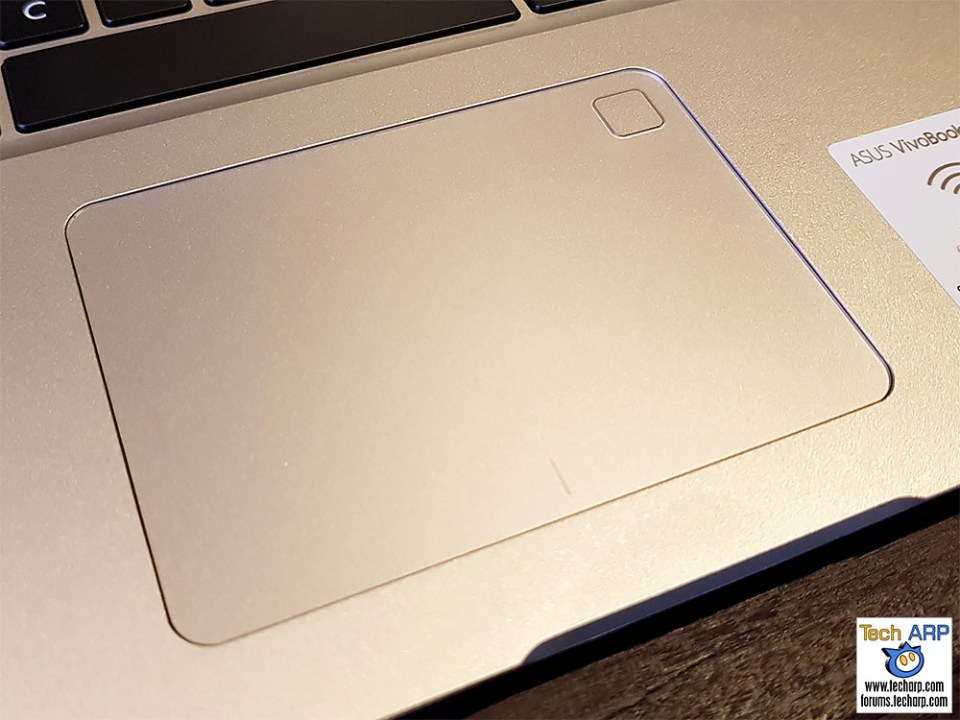 ASUS VivoBook S15 touch pad