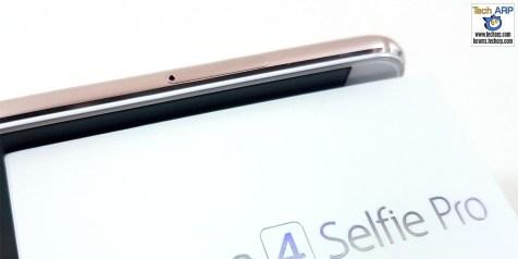 The ASUS ZenFone 4 Selfie Pro (ZD552KL) smartphone left side