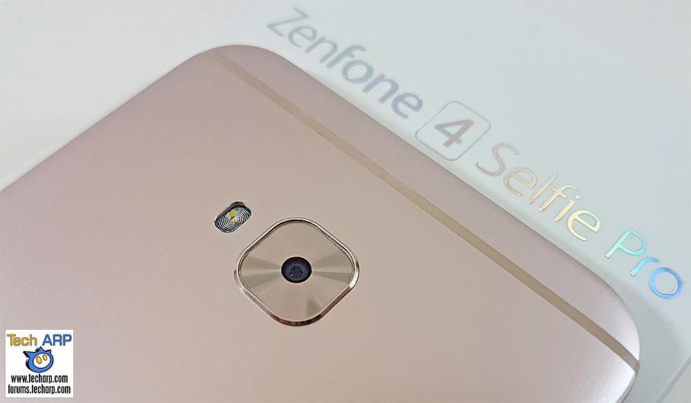 The ASUS ZenFone 4 Selfie Pro (ZD552KL) smartphone main camera