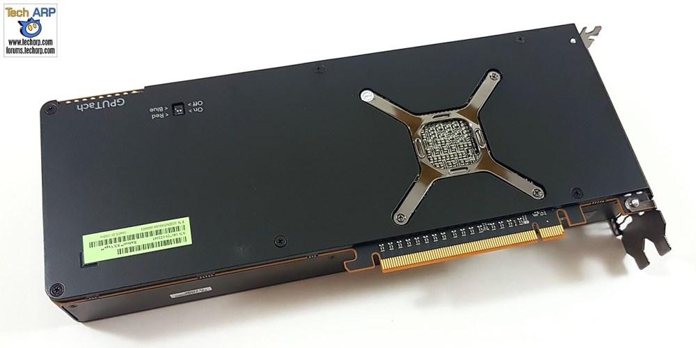 AMD Radeon RX Vega 64 back