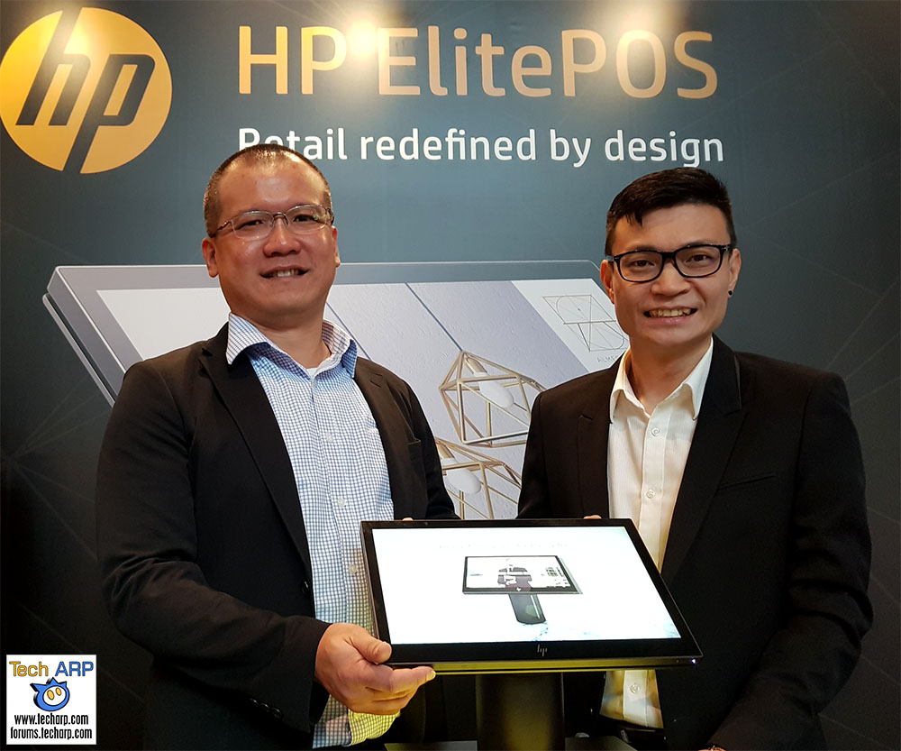 HP ElitePOS Reinvents The Retail Experience