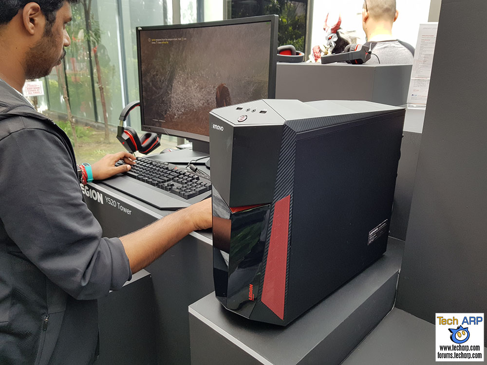 The Lenovo Legion Y520 Tower Gaming Desktop