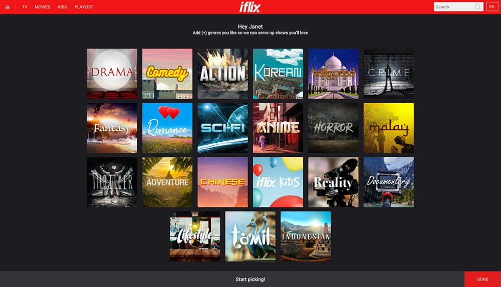 Easier Browsing With iflix Channels For Studios & Genres!