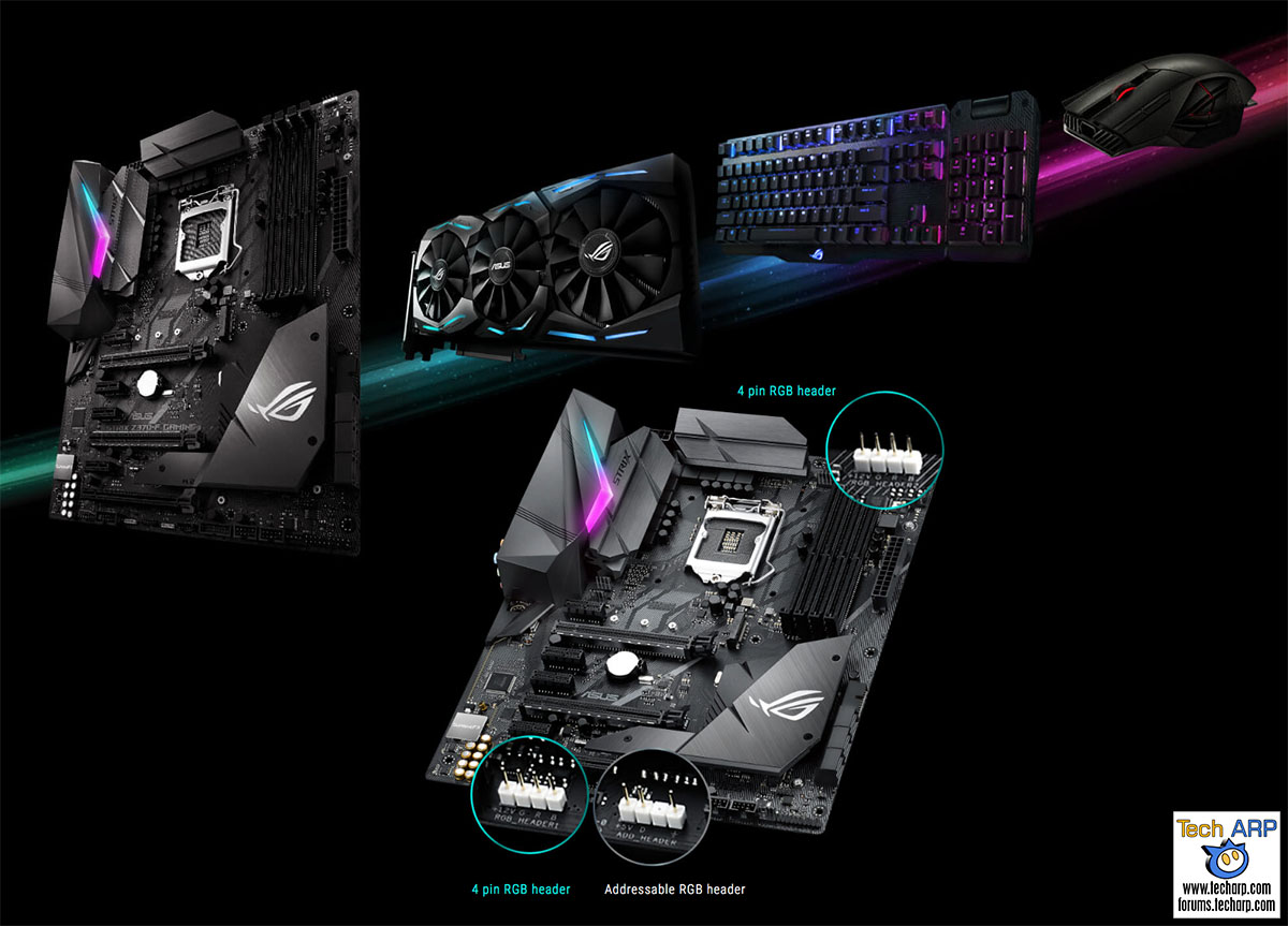 The ASUS ROG Strix Z370-F Gaming Motherboard Review - Page 4 : Back