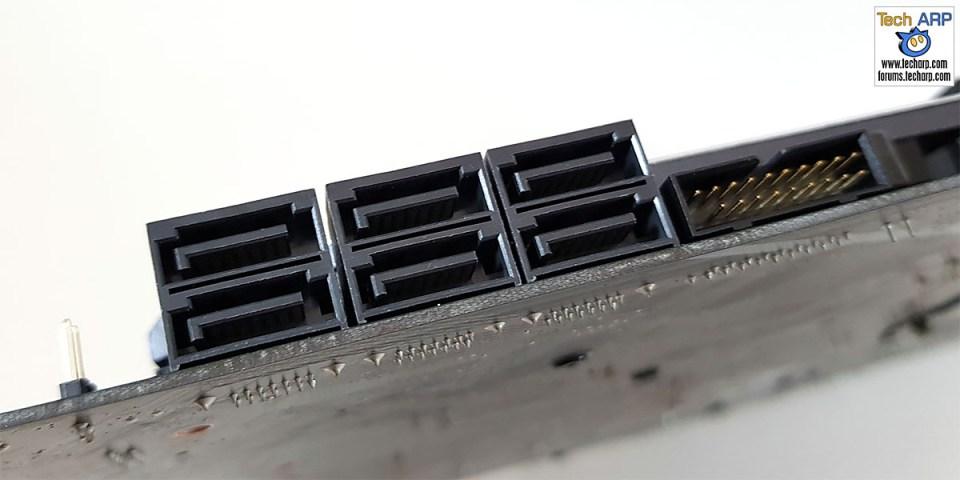 ASUS ROG Strix Z370-F Gaming SATA ports