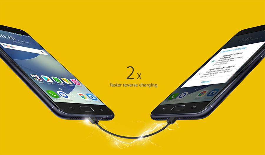 ASUS ZenFone 4 Max Pro reverse charging