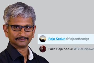GFXChipTweeter Is Now RajaOnTheEdge