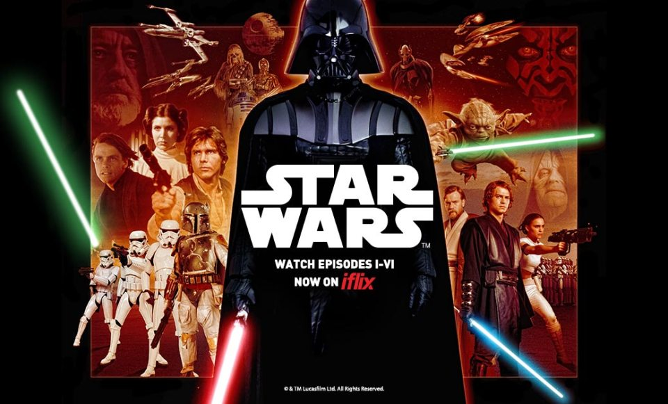 You Can Now Binge On Star Wars In iflix!