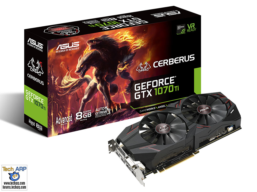 The ASUS Cerberus GeForce GTX 1070 Ti Revealed!