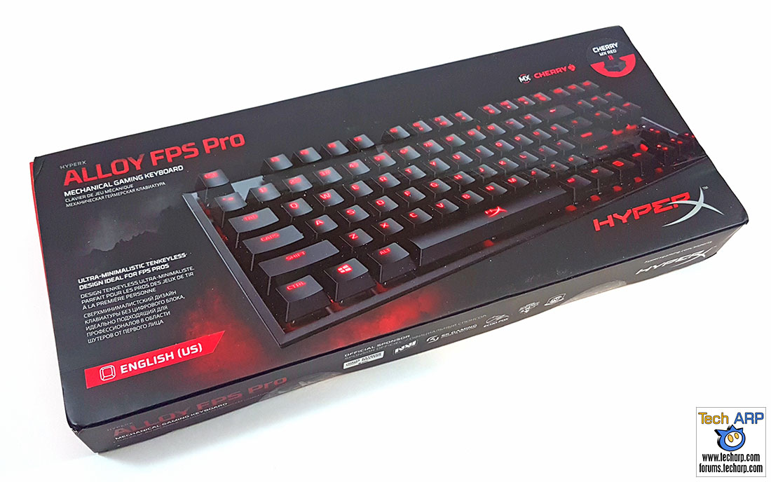 The HyperX Alloy FPS Pro Mechanical Keyboard Review | Tech ARP