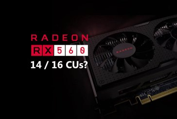 AMD Quietly Introduces Radeon RX 560 With 14 CUs!