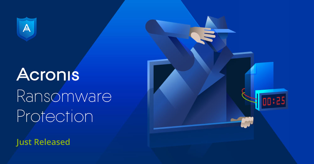 Acronis Ransomware Protection - FREE Ransomware Protection For All!