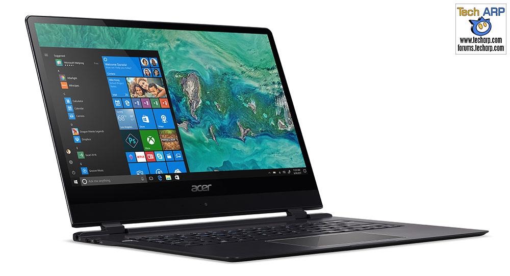 CES 2018 : New Acer Swift 7 Laptop Revealed!