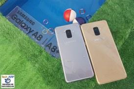 The Samsung Galaxy A8 | A8+ 2018 Makes A Big Splash!
