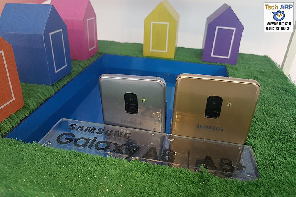 The Samsung Galaxy A8 | A8+ 2018 Lands With A Big Splash!