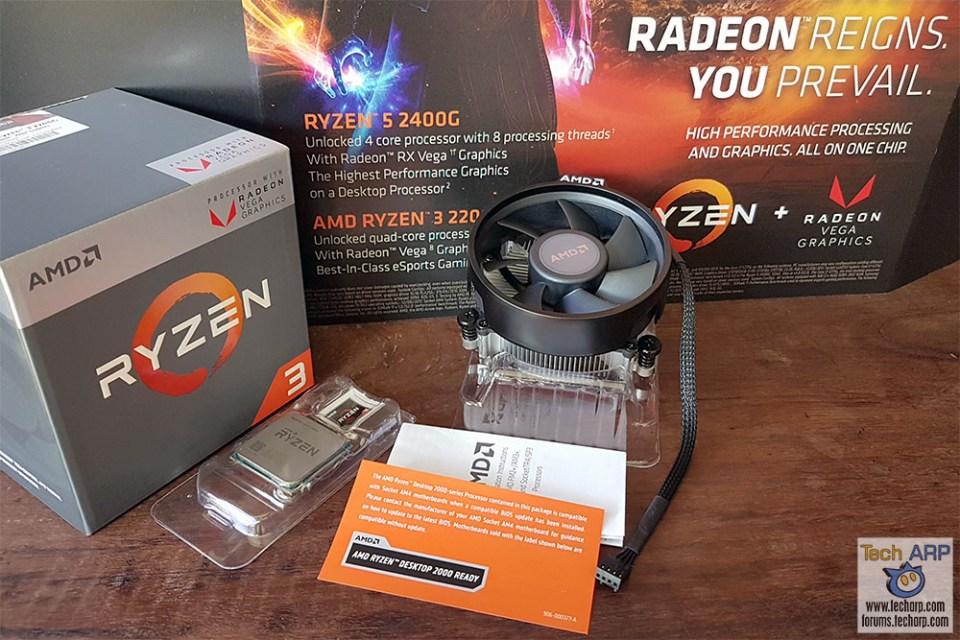 The AMD Ryzen 3 2200G With Radeon Vega 8 Graphics Preview