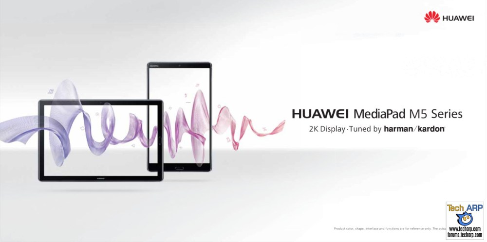 MWC 2018 : HUAWEI Shows Off MediaPad M5, MateBook X Pro + 5G CPE