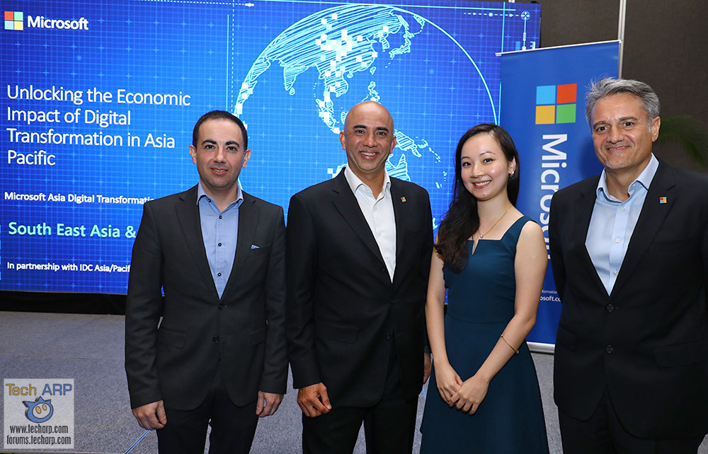 Microsoft : Digital Transformation to Contribute US$10 Billion to GDP by 2021
