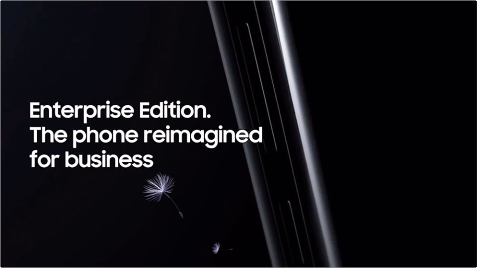 The Samsung Galaxy S9 Enterprise Edition Video Leaked!