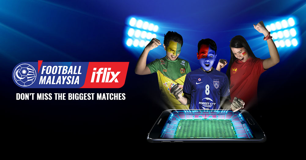 Catch Premium Malaysian Football On iflix!