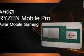 AMD Ryzen Mobile Pro Details + Specifications Leaked!