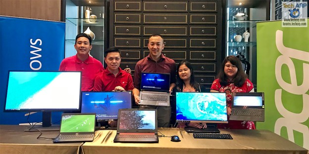 Acer Aspire S 24 AIO + Three Acer Monitors Revealed!