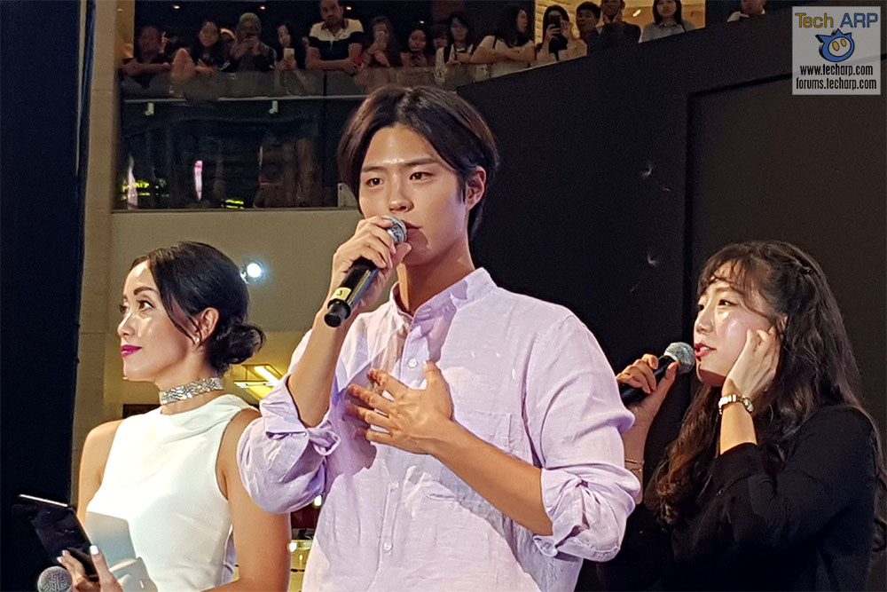 Park Bo-gum @ Samsung Galaxy S9 Launch!