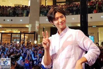 Korean Heartthrob Park Bo-gum @ Samsung Galaxy S9 Launch!