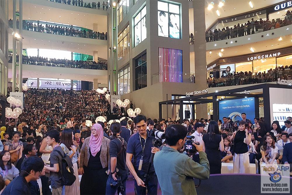 Korean Heartthrob Park Bo-gum @ Samsung Galaxy S9 Launch