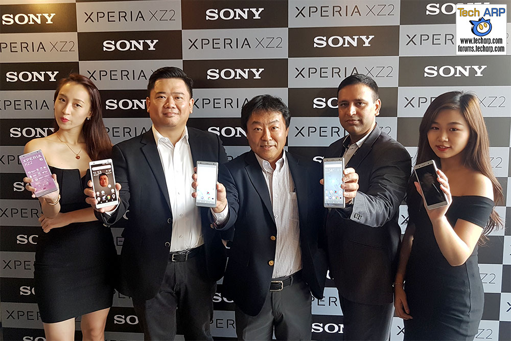 The Sony Xperia XZ2 + Xperia XZ2 Compact Revealed!