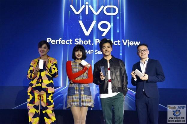 The Vivo V9 FullView Smartphone Revealed!