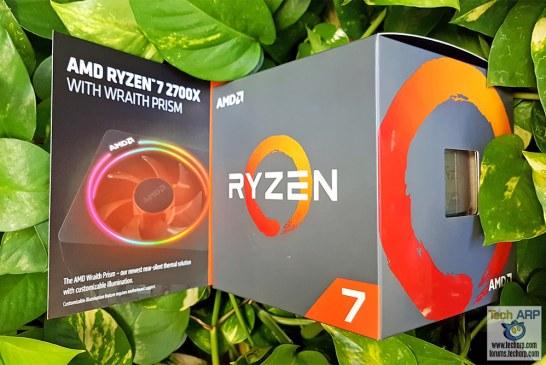 AMD Ryzen 7 2700X Octa-Core Processor Review