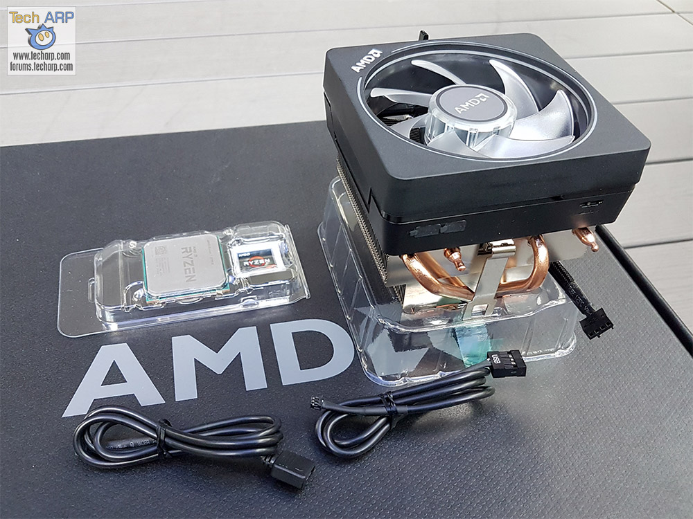 AMD Ryzen 7 2700X box contents