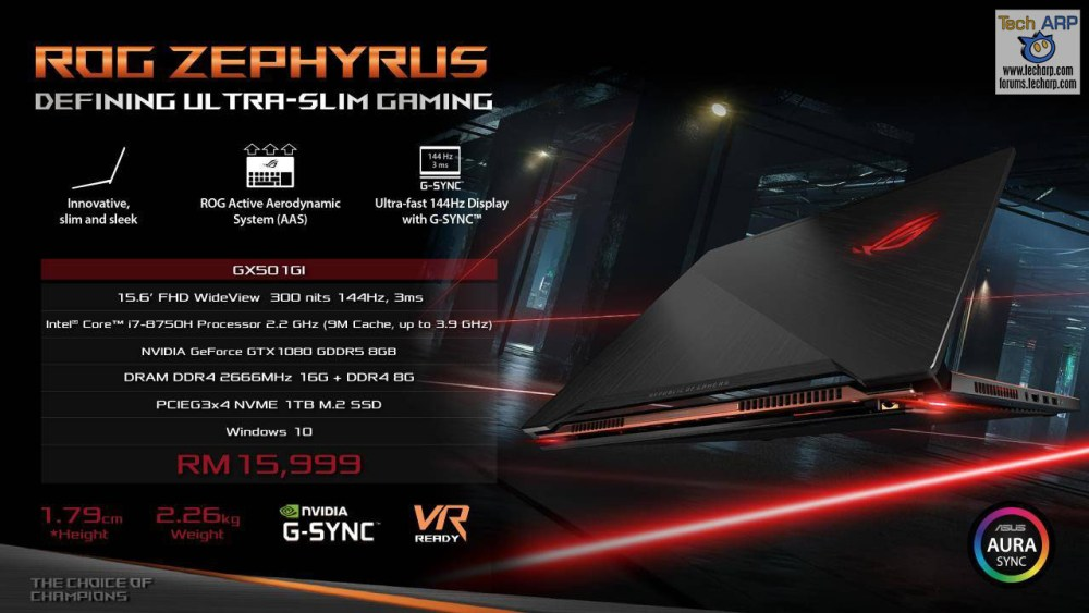 ASUS Coffee Lake Gaming Laptop - ASUS ROG GX501