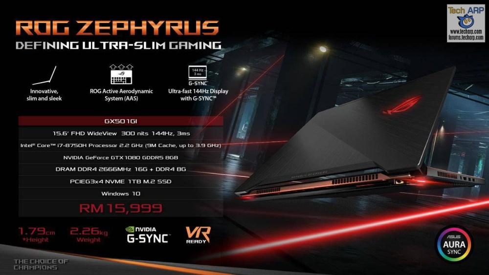 ASUS Coffee Lake Gaming Laptop - ASUS ROG GX501
