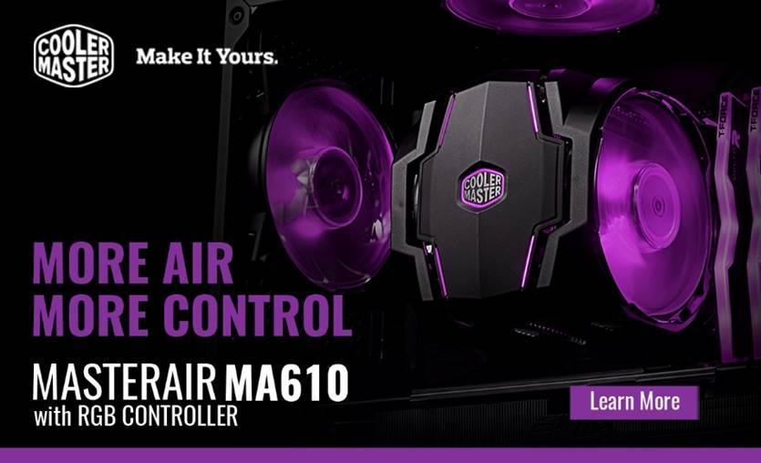 Cooler Master MasterAir MA610P CPU Cooler Revealed!