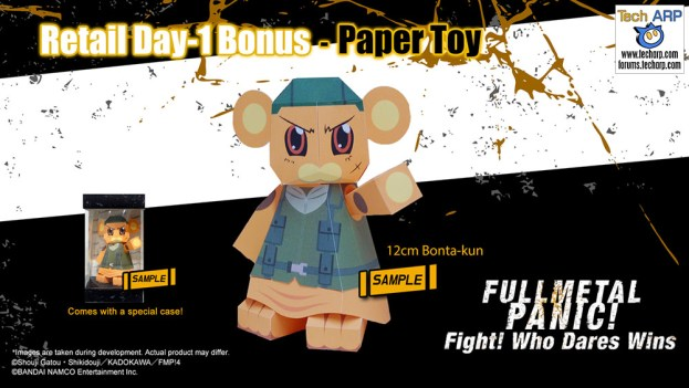 Full Metal Panic Premium + Digital Bonuses Revealed!